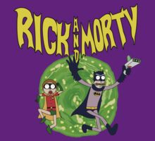Rick and Morty Batman Reality by BuckRogers