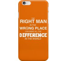 Make a Difference iPhone Case/Skin
