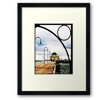 Last day of winter Framed Print