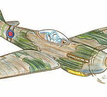 Pocket Rocket Spitfire by bigjninja