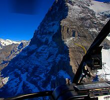 Eiger - North Face by David Hutcheson