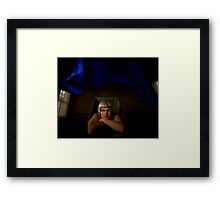 Born From This Earth, Right Out Of The Blue! Framed Print