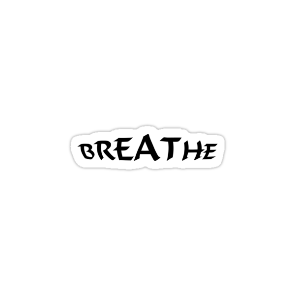 Breathe_black by dinjaninjart