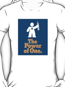 The Power of One T-Shirt