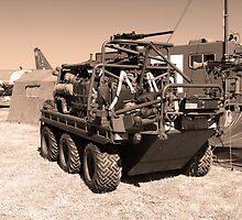 All-Terrain Mobility Platform (ATMP) 'Supacat' by Robert Gipson