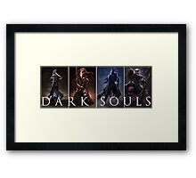 Dark Souls Warrior Framed Print