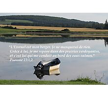 Ps. 23:1,2 fr2 Photographic Print