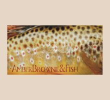 Amber Brownie and Fish by Ryan Houston