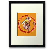 Clash Of Clans - Dominate The Realm Framed Print