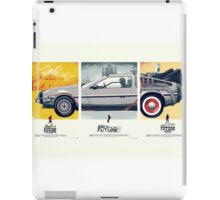 Back to the Future 1, 2, and 3 iPad Case/Skin