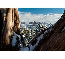 Framed Red Rocks Photographic Print