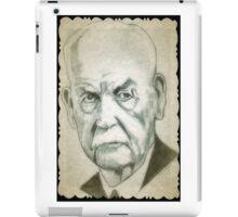 Wyatt Earp drawing iPad Case/Skin
