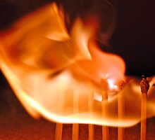 Lighting Matches 04 by Graham Taylor