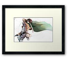 Levi Attacks Framed Print