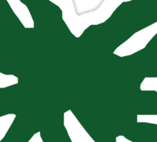 Ohio State Buckeye Leaf Sticker