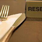 reserved table by dydydada