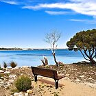 Please take a seat and enjoy the view. by Ian Berry