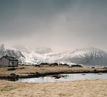 Lonely Cabin by Andreas Stridsberg