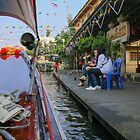 On the Bangkok canals by indiafrank