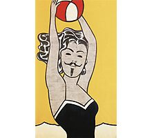 Anon With Ball - Roy Lichtenstein, 1961 Photographic Print