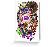 Viva Pinata - Macaraccoon Collage! Greeting Card