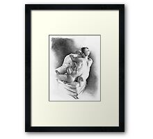 Whatever - recline I Framed Print