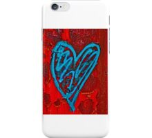 Urban Love - Red and Blue iPhone Case/Skin