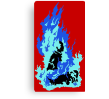 Self-Immolation Canvas Print