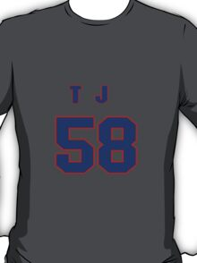 National baseball player T.J. House jersey 58 T-Shirt