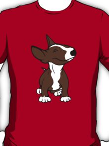 English Bull Terrier Pup Brown  T-Shirt