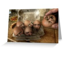 Eggsecution - The Prequel Greeting Card