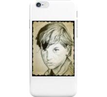 Ralph Macchio drawing iPhone Case/Skin