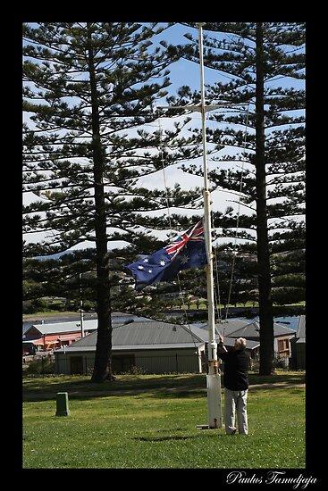 Advance Australia Fair by Paulus Tanudjaja