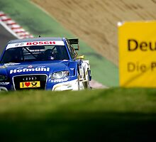 DTM Katherine Legge, Audi A4 by Mark Greenwood