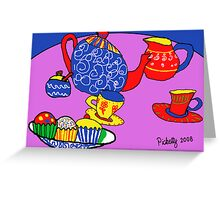 More cup cakes Greeting Card