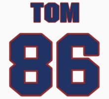 National football player Tom Hall jersey 86 by imsport