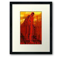 Sentionaut Framed Print