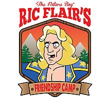 The Nature Boy Ric Flair's Friendship Camp Photographic Print