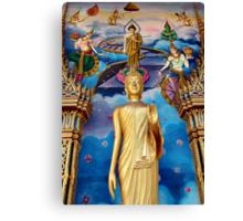 Temple Art Canvas Print