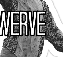 Will Smith Swerve Sticker