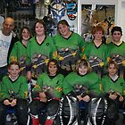 Rats 12 and Under Team at Vic Championships 2008 by Lilydale Rats Inline Hockey Club