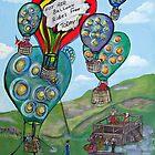 Hot Air Balloon Rides by cruserart