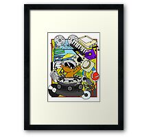 Beat Dumps Framed Print