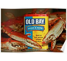 The Crabs and Old Bay - Poster