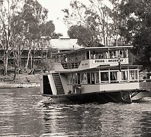 Pride of the Murray by Steve Blake : - Akuna Photography Bendigo
