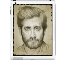 Jake Gyllenhaal drawing iPad Case/Skin
