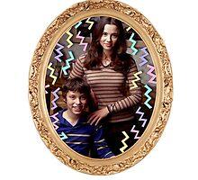 Lindsay and Sam Weir Frame by shebandit
