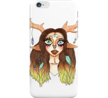 Wood fairy nymph iPhone Case/Skin