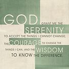 Serenity Prayer III by Dallas Drotz