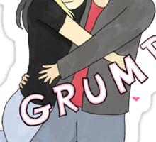 Date Grumps Sticker